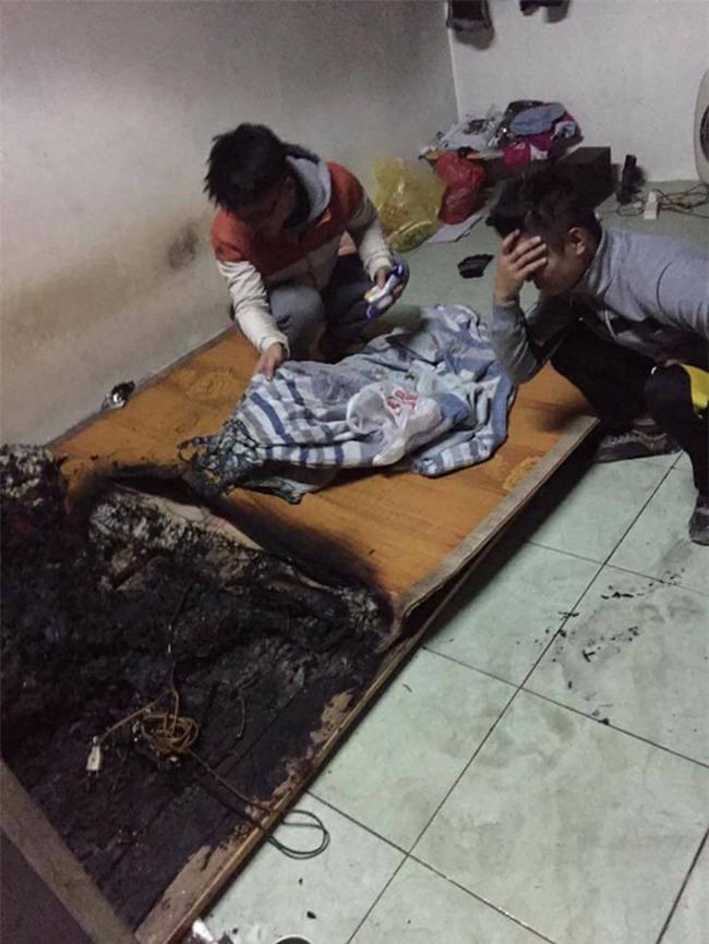 Nhóm nam sinh bị cháy phòng trọ do chập điện khiến dân mạng vừa thương vừa hoang mang - Ảnh 4.