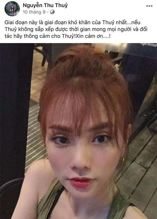 Thu Thủy liên tục đăng tải status buồn bã, cô đơn suốt nhiều tháng giữa thời điểm xuất hiện tin đồn ly hôn - Ảnh 3.
