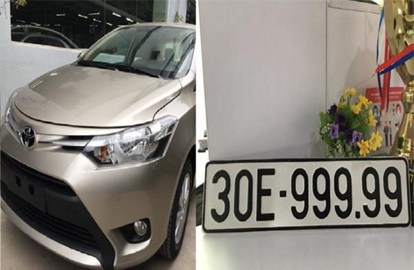 Toyota Vios,biển số xe,biển số đẹp