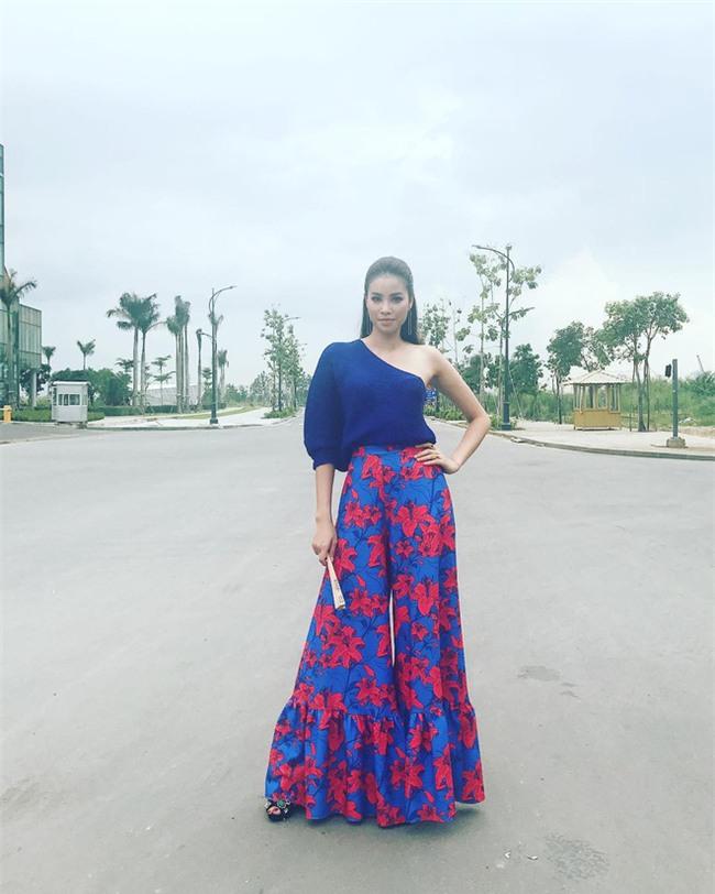 Phạm Hương và 3 phong cách hoàn toàn khác nhau từ The Face, Hoa hậu hoàn vũ 2017 đến The Look - Ảnh 16.