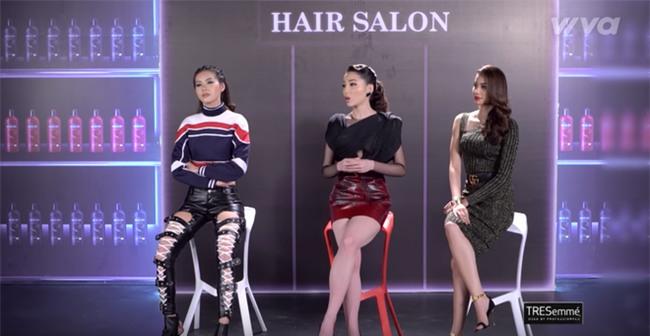 Phạm Hương và 3 phong cách hoàn toàn khác nhau từ The Face, Hoa hậu hoàn vũ 2017 đến The Look - Ảnh 18.
