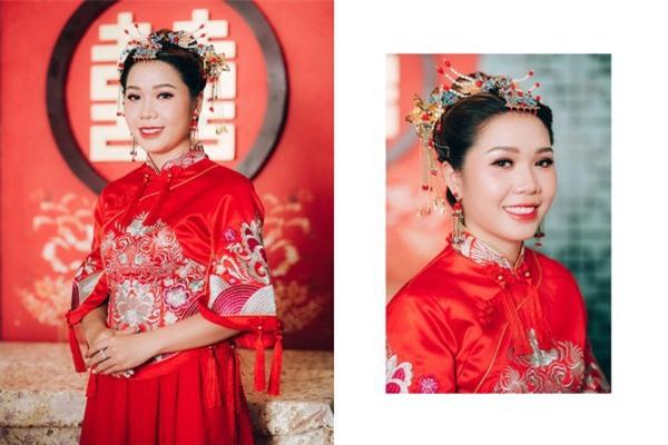 Dàn bê tráp theo phong cách 'bến Thượng Hải' của cô dâu người Việt gốc Hoa gây sốt mạng xã hội - Ảnh 10.