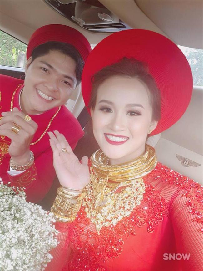 Cô dâu trong đám cưới tặng vàng 1 tỷ đồng tiết lộ chuyện tình 2 năm qua mai mối - Ảnh 1.
