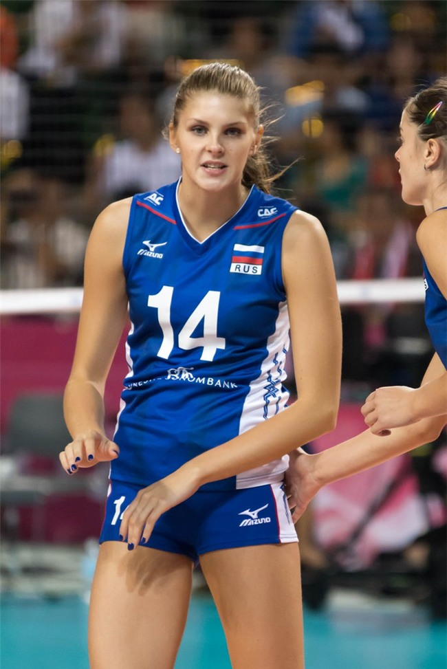 Vẻ đẹp của thiên thần bóng chuyền Nga - Irina Fetisova - Ảnh 2.