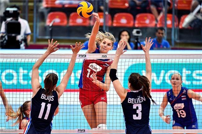 Vẻ đẹp của thiên thần bóng chuyền Nga - Irina Fetisova - Ảnh 3.
