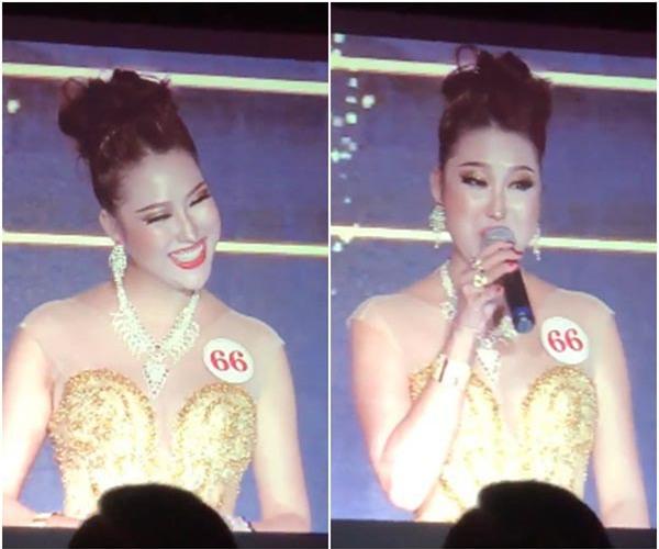 Clip: Phi Thanh Vân đoạt hoa hậu nhưng lại có phần thi ứng xử quá lố, gây cười - Ảnh 3.