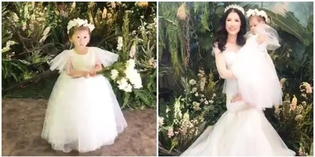 Con gái Trang Trần cực đáng yêu trong ảnh cưới của bố mẹ - Tin sao Viet - Tin tuc sao Viet - Scandal sao Viet - Tin tuc cua Sao - Tin cua Sao