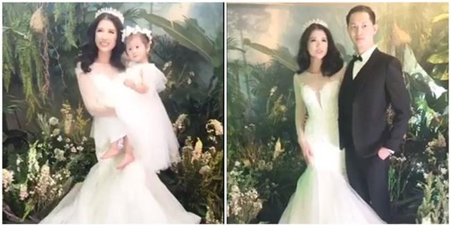 Con gái đầu lòng cũng tham gia chụp ảnh cưới với bố mẹ. - Tin sao Viet - Tin tuc sao Viet - Scandal sao Viet - Tin tuc cua Sao - Tin cua Sao
