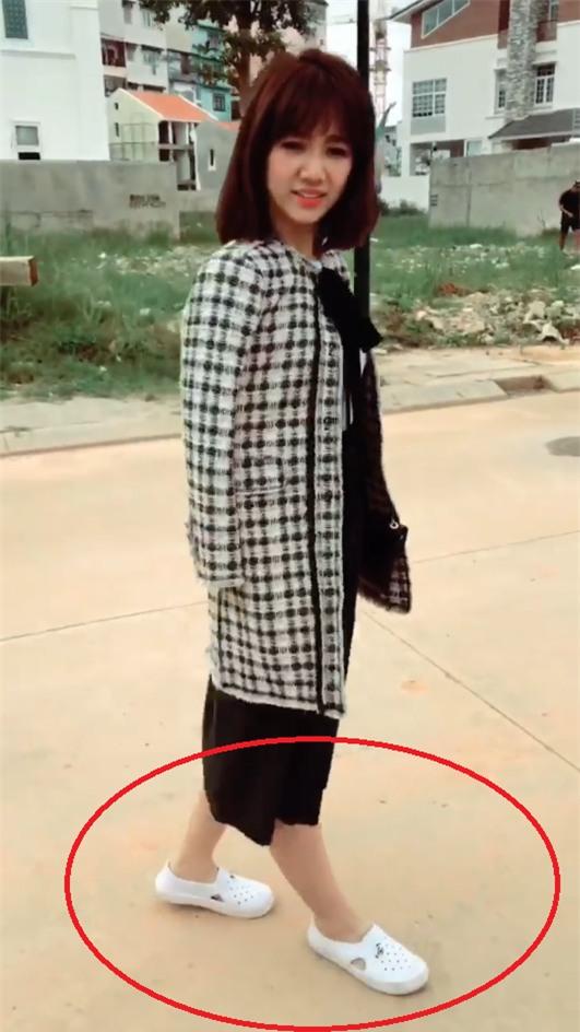 Bị tố mặc hàng hiệu mà đi giày dởm, Hari Won nói lái: Đừng có hỏi tiền vì tiền không là tất cả-1