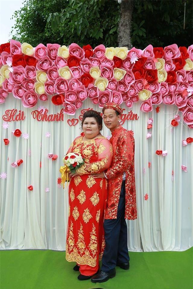 Cô vợ 9X nổi tiếng MXH vì được chồng chăm từ 90 lên 120 kg mới làm đám cưới - Ảnh 3.