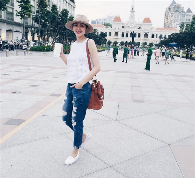 Mẹ hai con Tăng Thanh Hà chuộng style giản dị nhưng vẫn chất từng centimet-7