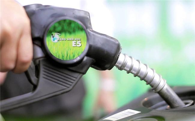 Xăng E5,xăng RON 92,xăng sinh học,ethanol