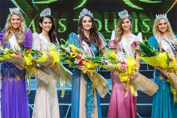 Á khôi Liên Phương bất ngờ đoạt vương miện Miss Eco Tourism 2017-9