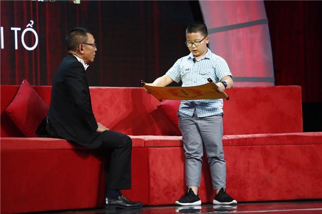 Cậu bé đọc vanh vách Chiếu dời đô của Lý Thái Tổ khiến MC Lại Văn Sâm đứng hình-2