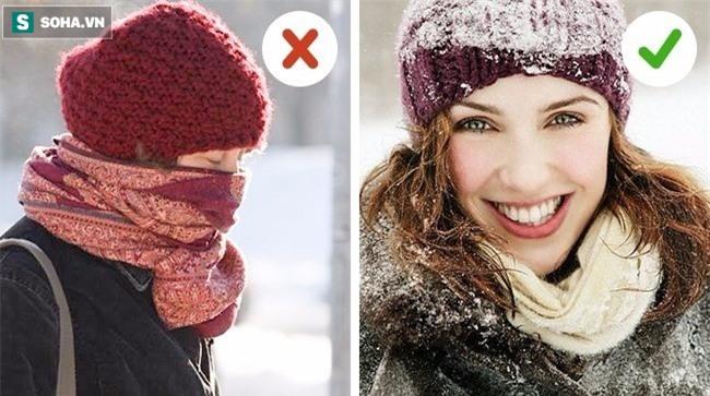 Hầu hết mọi người đều mắc những sai lầm này khi giữ ấm cơ thể lúc trời lạnh - Ảnh 2.