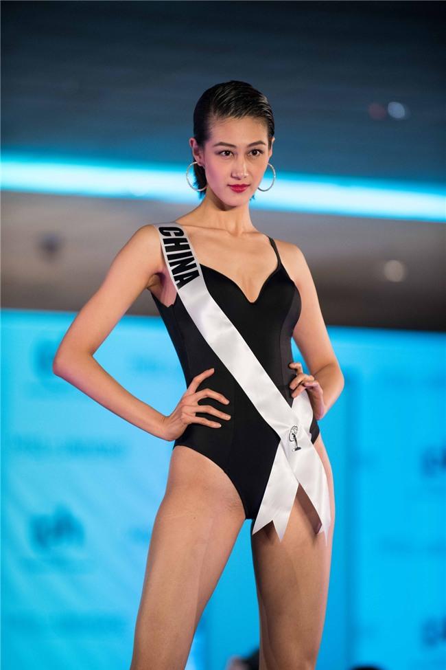 Những hoa hậu Trung Quốc bị chê giống đàn ông mặc váy trên đấu trường quốc tế-2