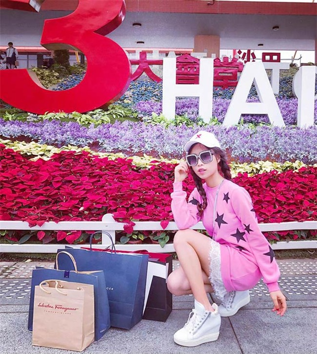 "lay chong tay, ""hot girl dat nhan"" song sung suong chang kem con nha giau - 7"