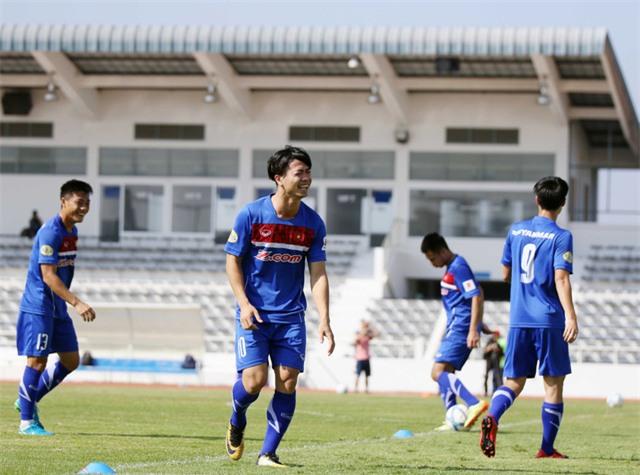 Công Phượng được gia nhiệm vụ đặc biệt dưới thời HLV Park Hang Seo