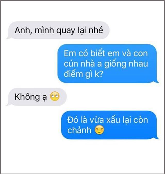 """tra loi nguoi yeu cu the nao cho that oach? dan mang chia se am am chieu """"dan mat"""" moi - 5"""