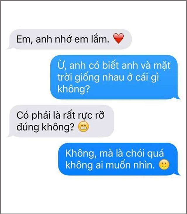 """tra loi nguoi yeu cu the nao cho that oach? dan mang chia se am am chieu """"dan mat"""" moi - 9"""