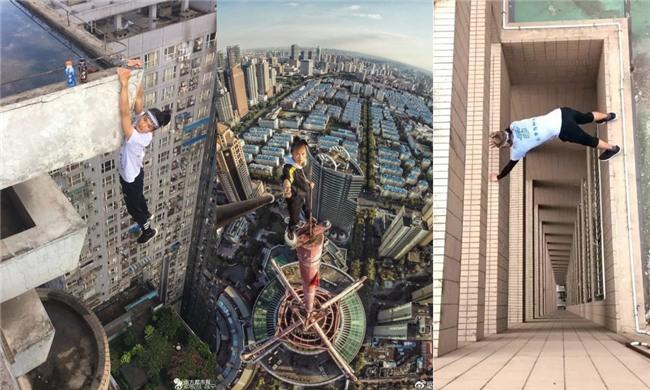 Trước khi chết, diễn viên Trung Quốc từng thách thức độ cao 1.000 m-4