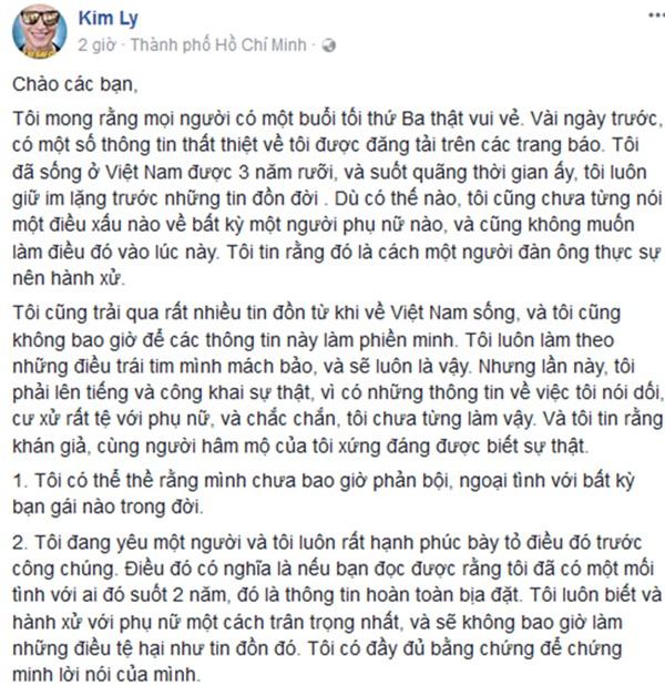 Kim Lý lên tiếng về nghi vấn bắt cá hai tay trong thời gian yêu Trương Ngọc Ánh-5
