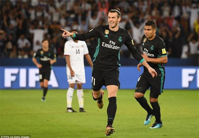 Bale ấn định thắng lợi 2-1 cho Real Madrid, dù anh chỉ đá 10 phút cuối trận