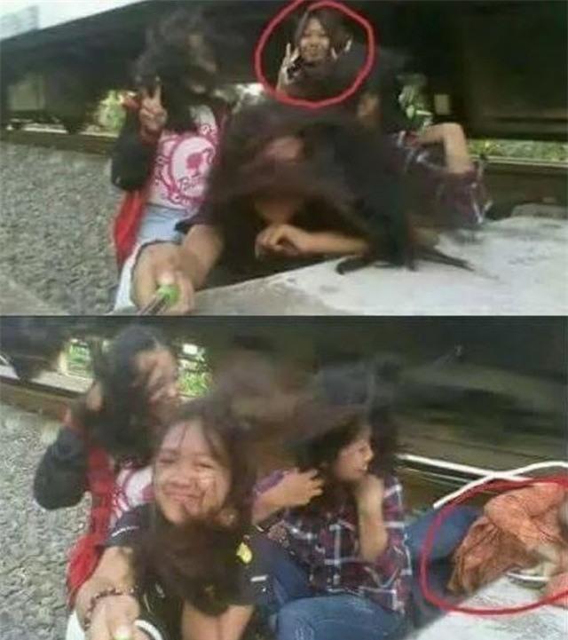 Hớn hở selfie bên đường ray, cô gái bị xe lửa đi qua va vào đầu phải nhập viện khẩn cấp - Ảnh 1.