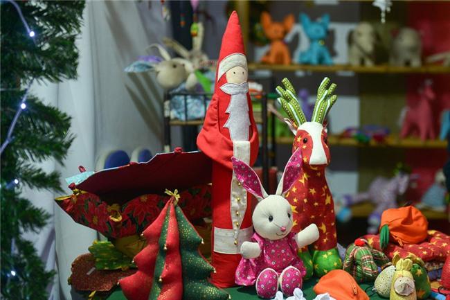 Hội chợ Giáng sinh phong cách Đức ở nhà thờ Cửa Bắc