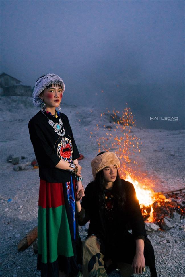 Cặp đôi Hà thành hóa trang thành dân du mục Mông Cổ, ôm rồng Nam Mỹ chụp ảnh cưới - Ảnh 23.