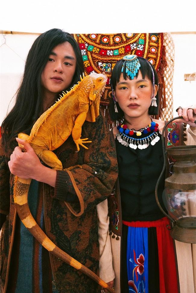 Cặp đôi Hà thành hóa trang thành dân du mục Mông Cổ, ôm rồng Nam Mỹ chụp ảnh cưới - Ảnh 6.