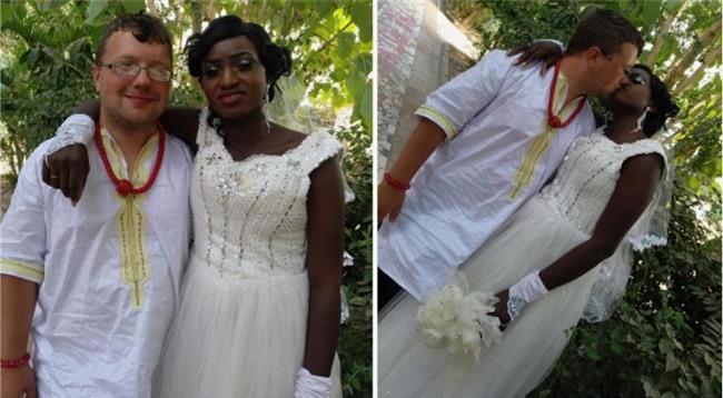 Gã ăn mày xuyên lục địa quyết định từ giã sự nghiệp, kết hôn với một cô gái châu Phi - Ảnh 1.