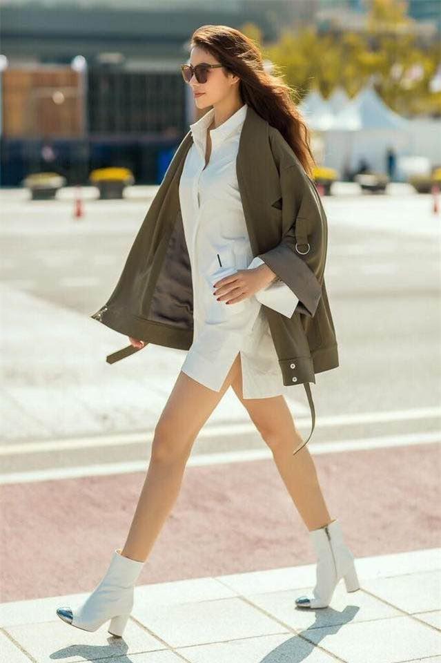 Kỳ Duyên càng ngày càng manly, Thanh Hằng bỗng nữ tính không ngờ trong street style tuần này - Ảnh 3.