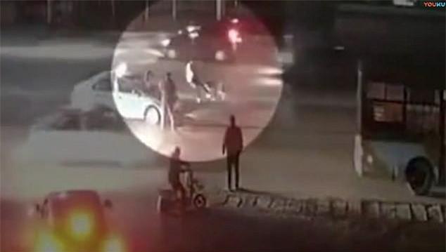 Clip: Đang đi đường, người phụ nữ bất ngờ bị chó Ngao Tây Tạng lao đến tấn công - Ảnh 2.