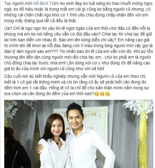 Người đẹp bị Minh Luân chia tay vì còn yêu người cũ lên tiếng tố nam ca sĩ: Nhân cách rách chỉ là đồ bỏ đi-7