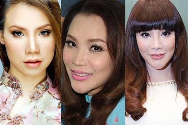 Gương mặt của Hồ Quỳnh Hương lại tiếp tục khác lạ trong loạt ảnh mới - Ảnh 1.