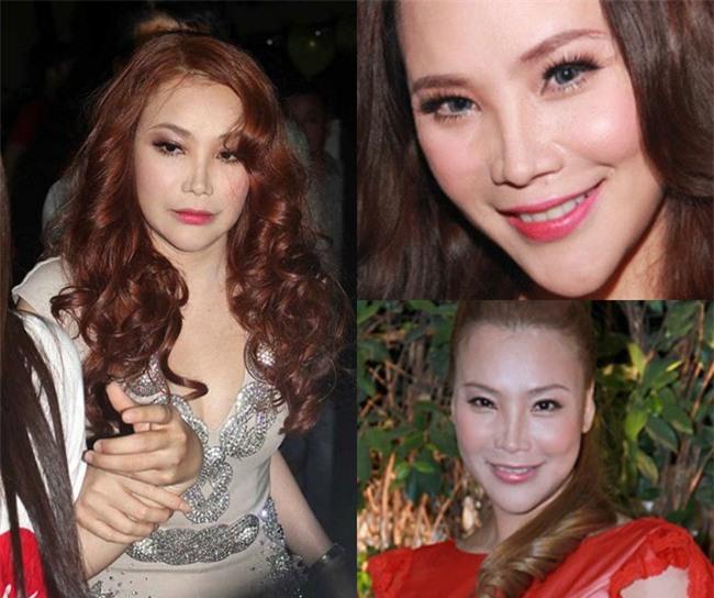 Gương mặt của Hồ Quỳnh Hương lại tiếp tục khác lạ trong loạt ảnh mới - Ảnh 2.
