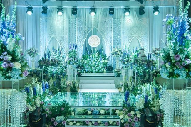 10 đám cưới Việt không phải của sao showbiz nhưng cực kỳ xa hoa khiến MXH nô nức chỉ dám nhìn không dám ước trong năm 2017 - Ảnh 22.