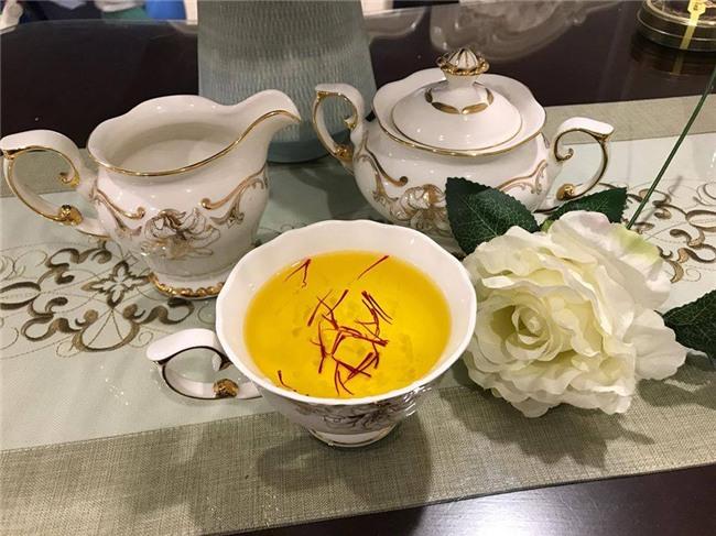 nhuỵ hoa nghệ tây,nhà giàu Việt,đặc sản nhà giàu,quà biếu tết
