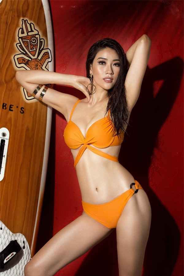Bỏng mắt trước loạt ảnh bikini của dàn thí sinh Hoa hậu Hoàn Vũ Việt Nam 2017-14
