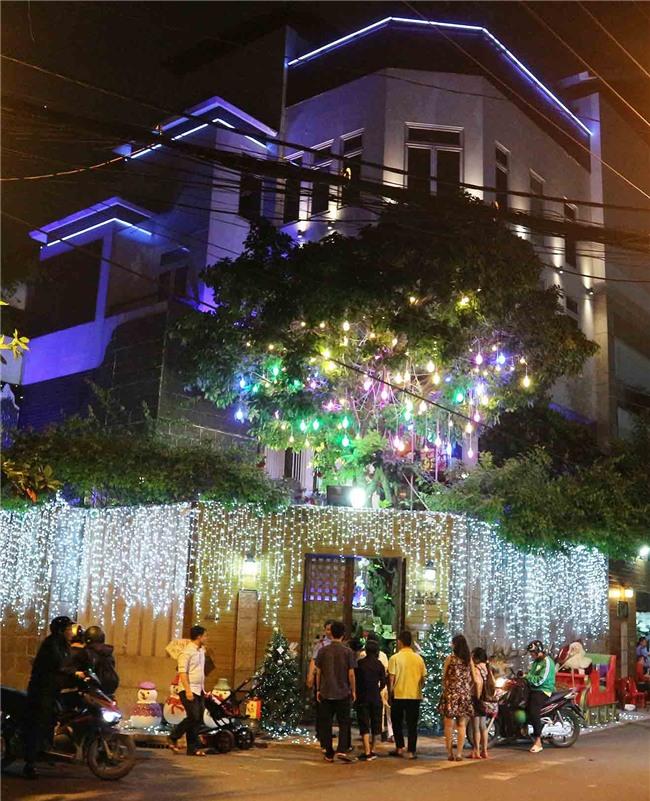 Hàng trăm người chen lấn chụp ảnh Noel tại biệt thự 3 triệu USD của Đàm Vĩnh Hưng - 1
