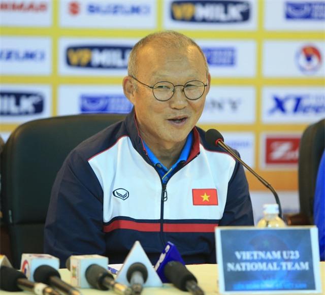 HLV Park Hang Seo đã sẵn sàng cho giải châu Á - Ảnh: Gia Hưng