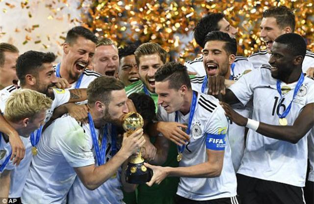 Đức vô địch FIFA Cup 2017