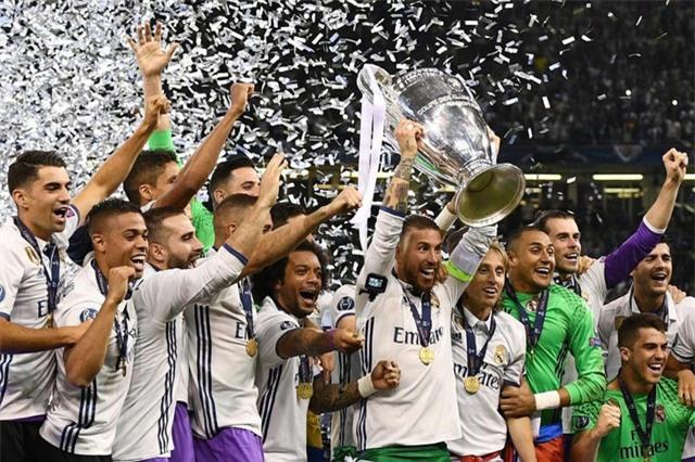Real Madrid vô địch hai năm liên tiếp ở Champions League