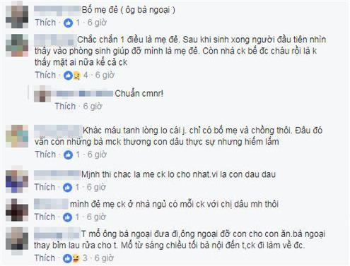"sau clip dua vo di de, dan mang lai day song ""me chong o dau khi con dau sinh chau"" - 2"