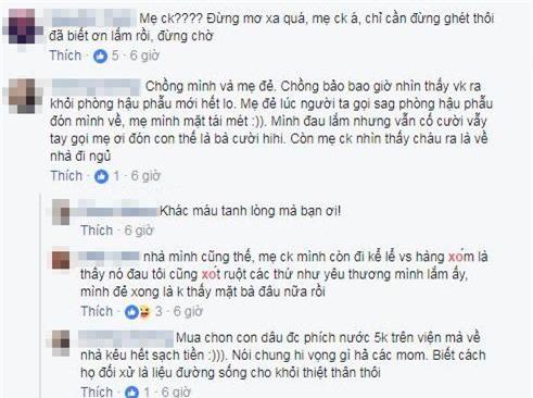 "sau clip dua vo di de, dan mang lai day song ""me chong o dau khi con dau sinh chau"" - 3"