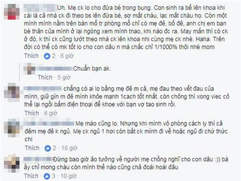 "sau clip dua vo di de, dan mang lai day song ""me chong o dau khi con dau sinh chau"" - 4"