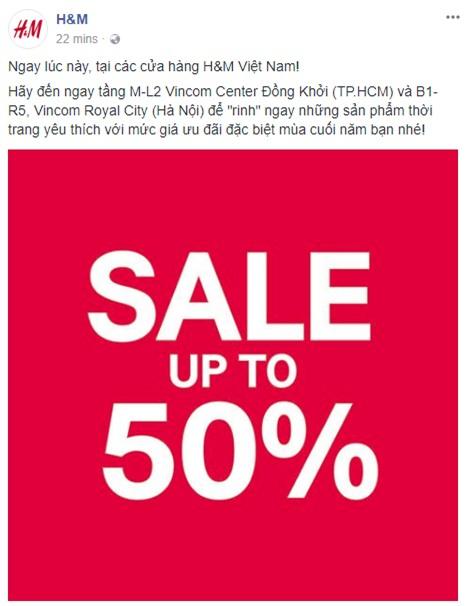 H&M sale 50% nhưng tìm được đồ để mua thì... hơi khó - Ảnh 1.