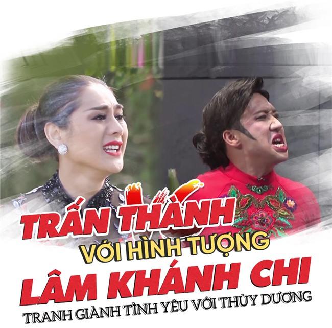 Những pha giả gái xuất sắc nhất làng hài Việt Nam 2017-2
