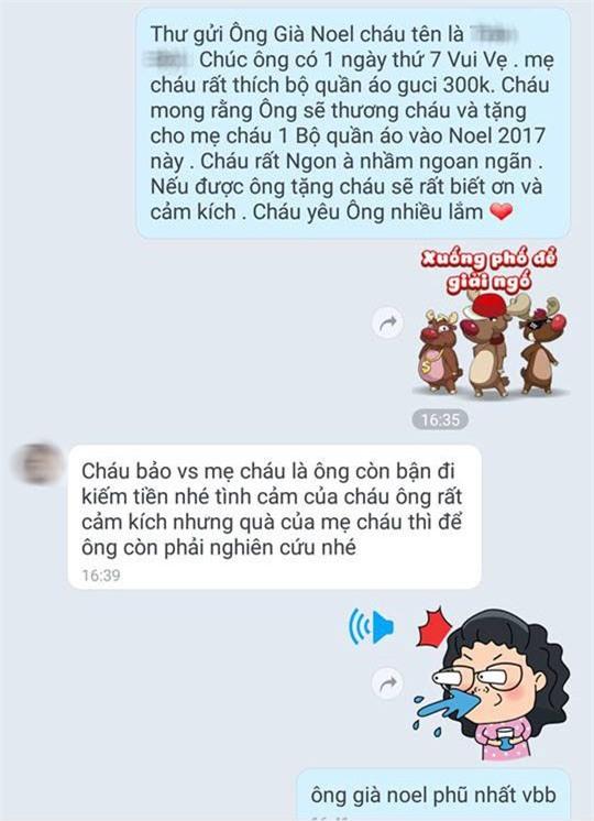 Khi hội chị em đua nhau nhắn tin theo trào lưu Em rất ngon và muốn có quà, hãy xem các anh già Noel phản ứng ra sao - Ảnh 12.